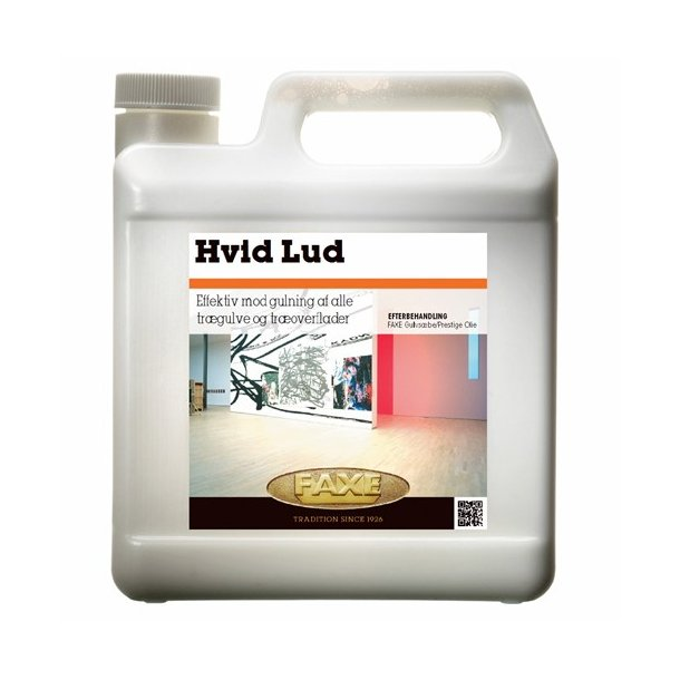 FAXE Hvid Lud 2,5ltr.