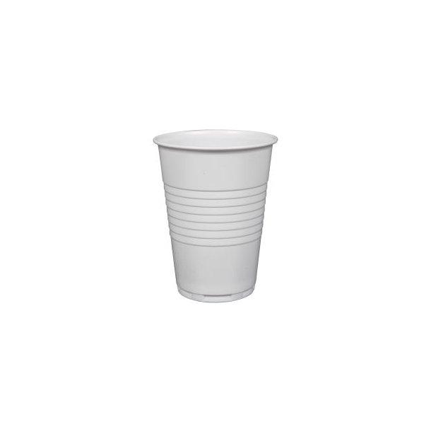 Drikkebæger, hvid 21 cl.