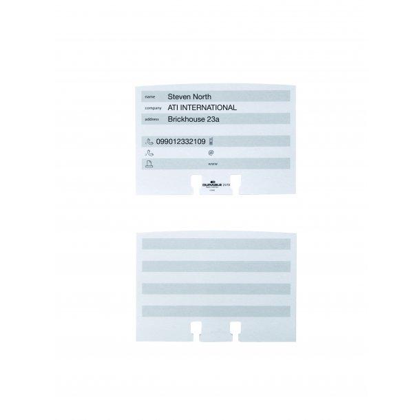Adressekort til VISIFIX® FLIP/DESK HVID